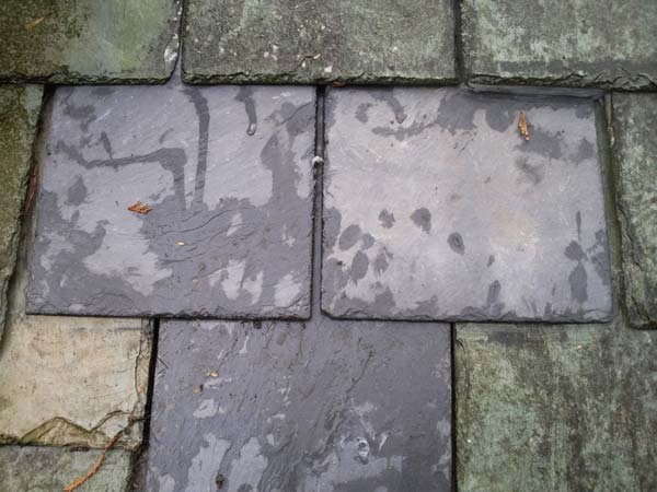 Roof Slate Tile Repair After Photo - Bournemouth Roofing Dorset